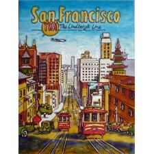 San Francisco Tile Wall Decor