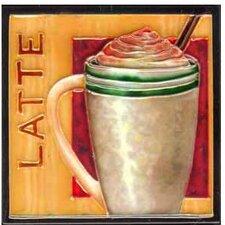 Latte Tile Wall Decor