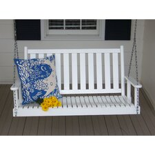 Hanging Porch Swing with Chain