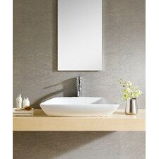 Modern Vitreous Modern Vessel Bathroom Sink