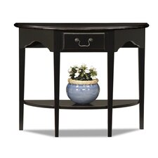 Favorite Finds Demilune Console Table