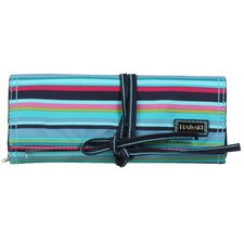 Dixie Stripes Coated Jewelry Pouch