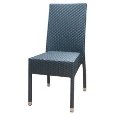Outdoor Rattan Side Chair