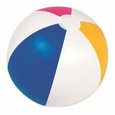 Classic Inflatable 6-Panel Matte Beach Ball Swimming Pool Toy