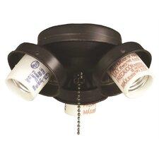 3 Light Candelabra Ceiling Fan Light Kit