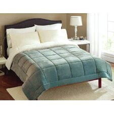 Plush Reversible Polyester Blanket