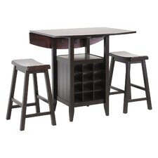 Ryegate 3 Piece Pub Table Set