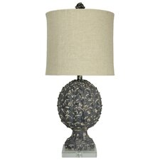 Wellington 36'' Table Lamp with Drum Shade