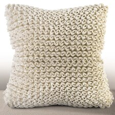 Madrygal Rosette Luxury Throw Pillow