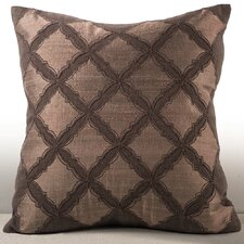 Medina Chenille Embroidered Throw Pillow
