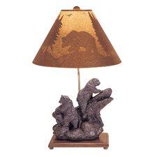 Climbing Bear Table Lamp in Brown