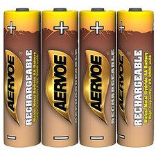 AA Rechargeable Batteries (Set of 4)