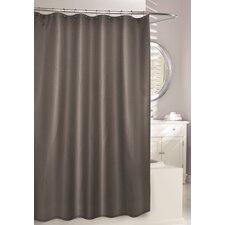 Waffle Fabric Shower Curtain
