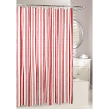 Weekend Stripe Fabric Shower Curtain