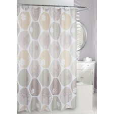 Expose Fabric Shower Curtain