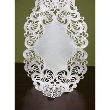 Diamond Shaped Fine Linen Table Runner