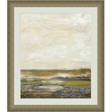 Organic Landscape III Framed Painting Print