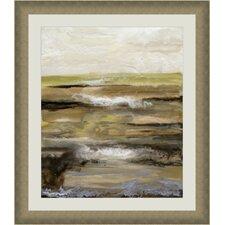 Organic Landscape IV Framed Painting Print