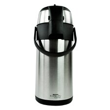 """Kung Fu """"Master"""" 13 Cup Double Wall Stainless Steel Airpot"""
