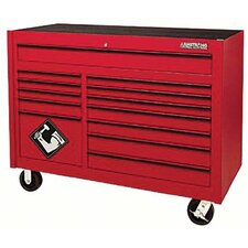"Double Bay 54"" Wide 13 Drawer Bottom Cabinet"