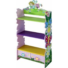"Adorable Kid's Butterfly Dragonfly 33"" Bookcase"