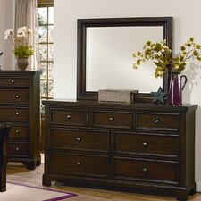 Hanover 7 Drawer Dresser with Mirror