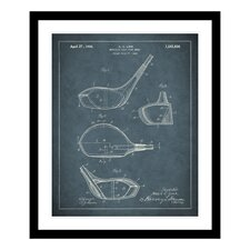1926 Golf Club Patent Framed Photographic Print