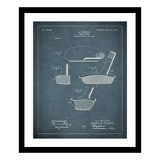 1903 Golf Club Patent Framed Photographic Print