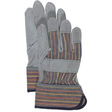 Kid's Split Leather Palm Gloves