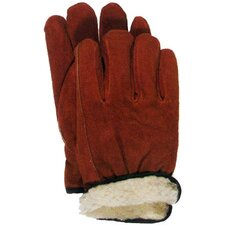 Lined Split Leather Gloves