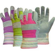 Ladies Split Palm Leather Gloves (Set of 12)
