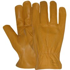 Large Unlined Premium Grain Leather Gloves