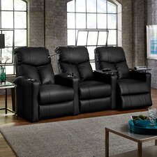 Bolt XS400 Home Theater Recliner (Row of 3)