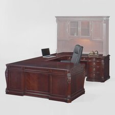 Balmoor U-Shape Executive Desk with Right Return