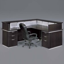 Pimlico Left L-Shape Reception Desk