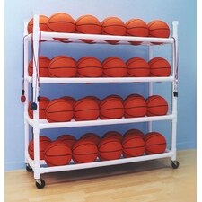40 Basketball Cart with Wheels