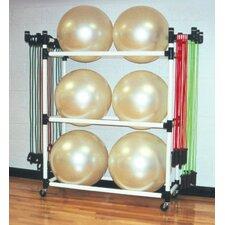Big Ball Fitness Cart