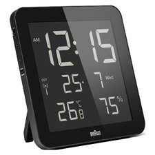 Braun Reverse LCD Wall Clock