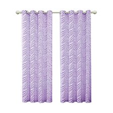 Ombre Single Curtain Panel