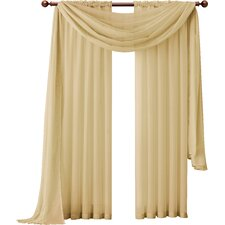 Infinity Sheer Single Curtain Panel