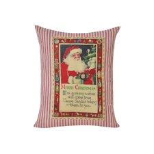 Santa Decorative Euro Pillow