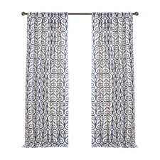 Clinton Drape Curtain Panel (Set of 2)