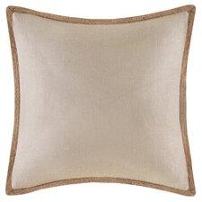 Trim Linen Throw Pillow