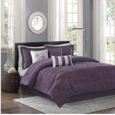 Hampton Jacquard 7 Piece Comforter Set