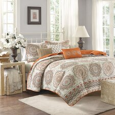 Tangiers 6 Piece Quilt Set
