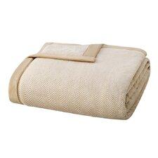 Herringbone Printed Microlight Plush Blanket