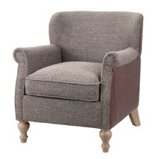 Luther Turned Leg Club Chair