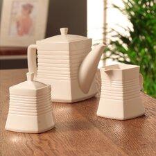 Solace Teapot, Cream and Sugar Set (Set of 3)