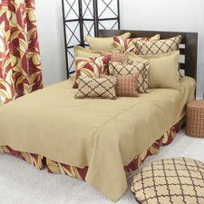Oriole Cotton Corded Coverlet