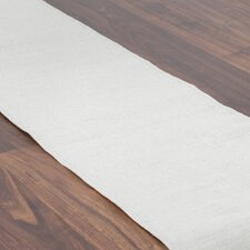 Burlap Hemmed Table Runner